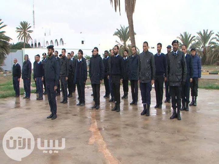 security department of Bmadrih, Benghazi graduating class, 5