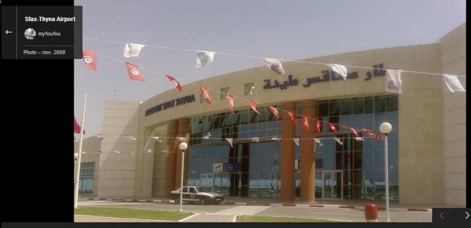SFAX AIRPORT, TUNISIA