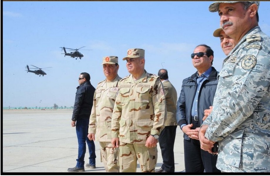 Sisi gives the Egyptian Army the go ahead to bomb DERNA