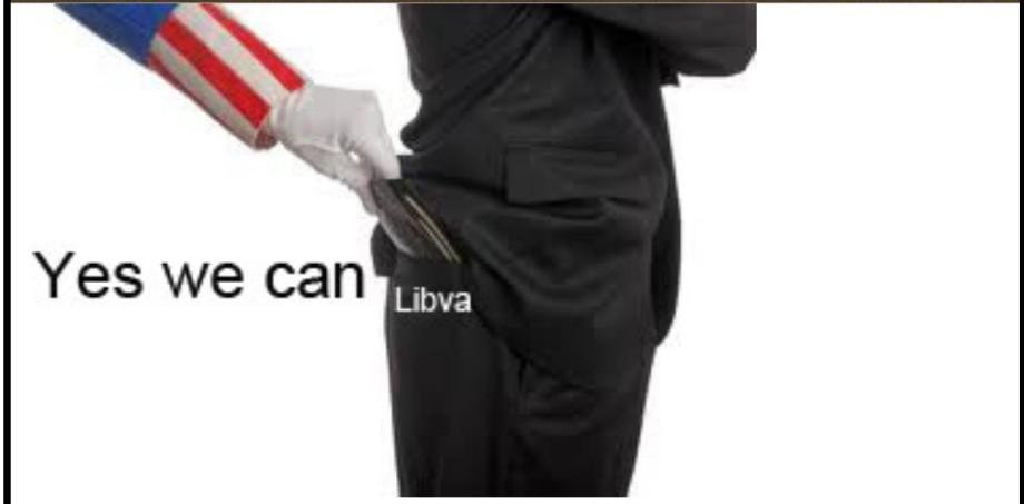 stolen from LIBYA