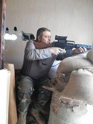 terrorist sniper in Hawari, Benghazi