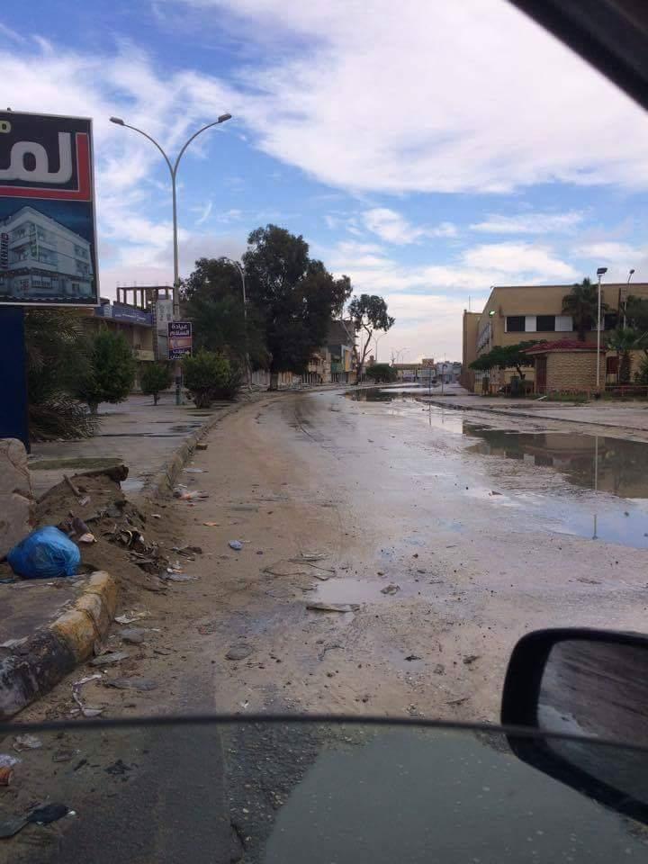 Tripoli Street in AJDABIYA, 1