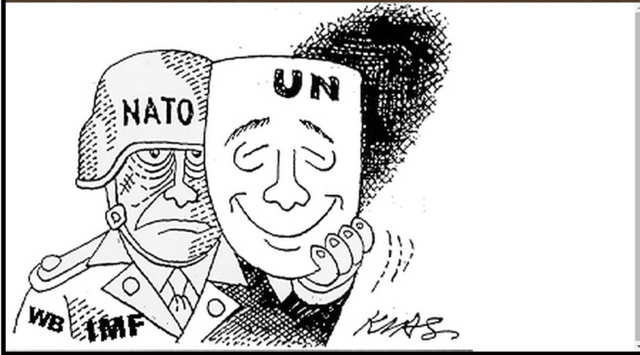 World Bank & IMF work w NATO and UNO
