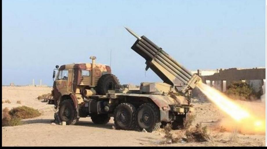 Yemeni forces bombarded the Saudi position