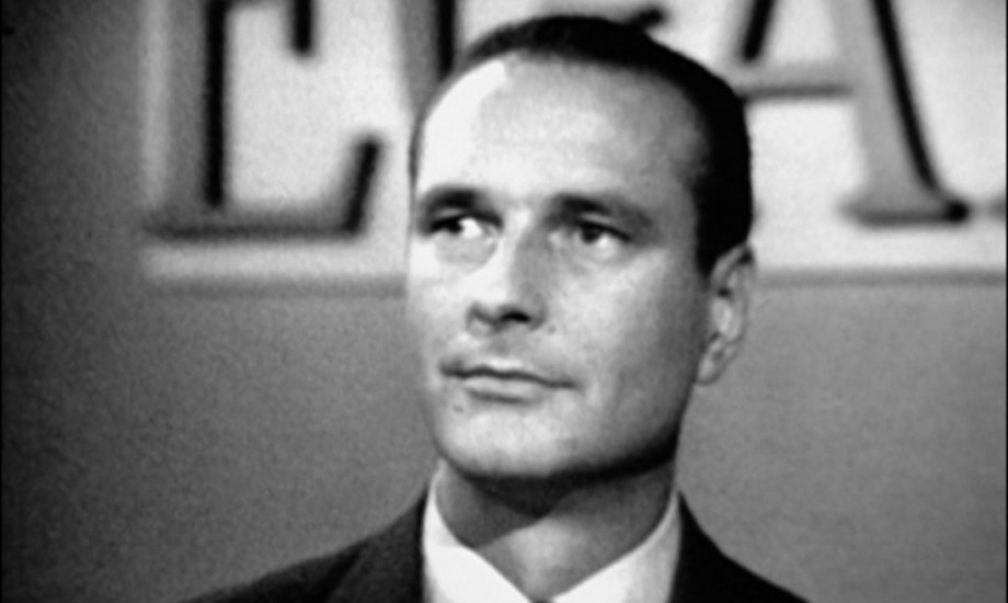 young Jacques Chirac, 1
