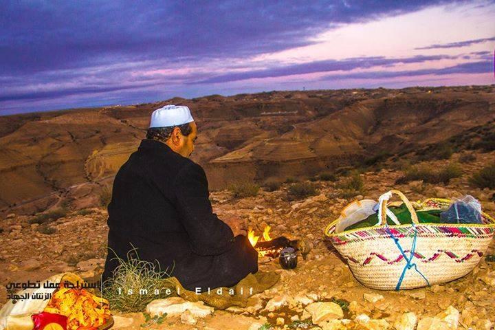 'Zintan mountain ' by Ismael el-Daif