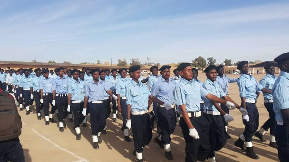 ZINTAN Police Academy, graduationg class, 3
