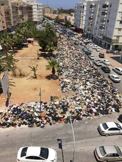 Benghazi Garbage