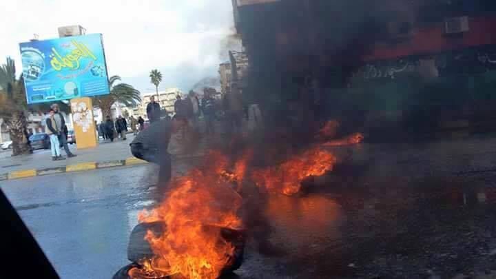 CASABLANCA protests against OS NATO insisting TOBUK employees leave, 2
