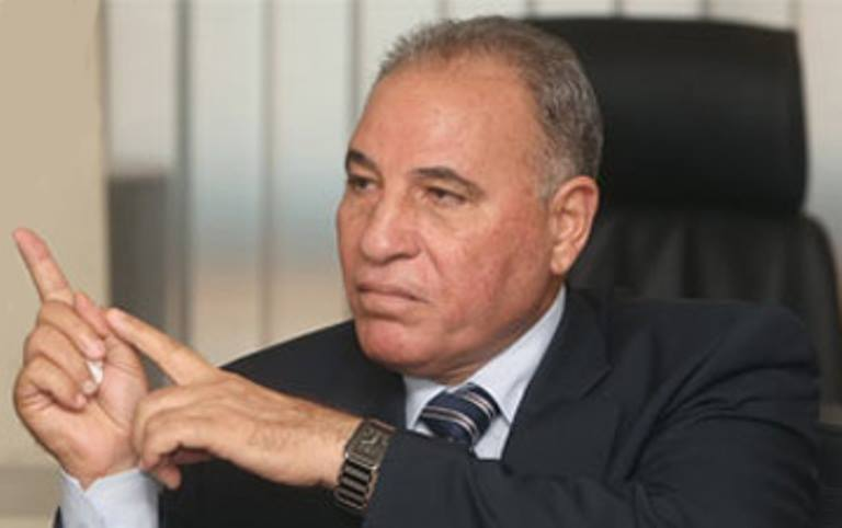 Egyptian Minister of Justice, Counselor 'Ahmed ulna'