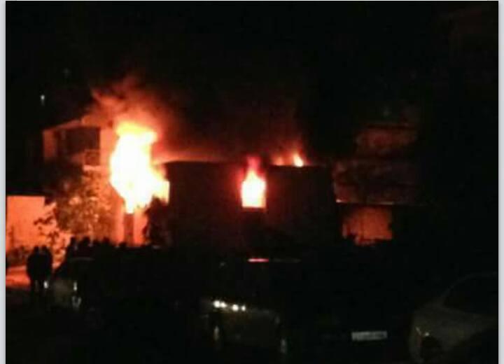 generator explodes at ABU SALIM victory