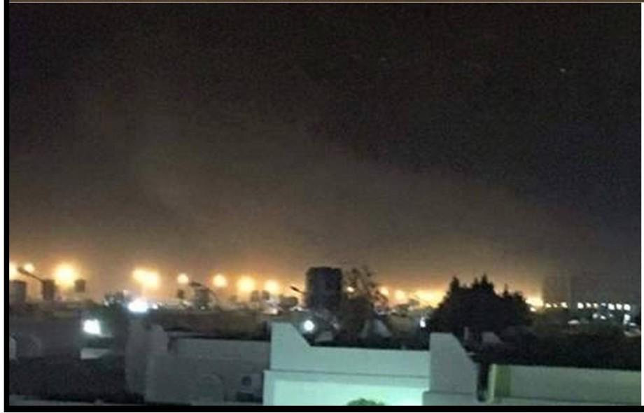 Hun, al-Jufra blast