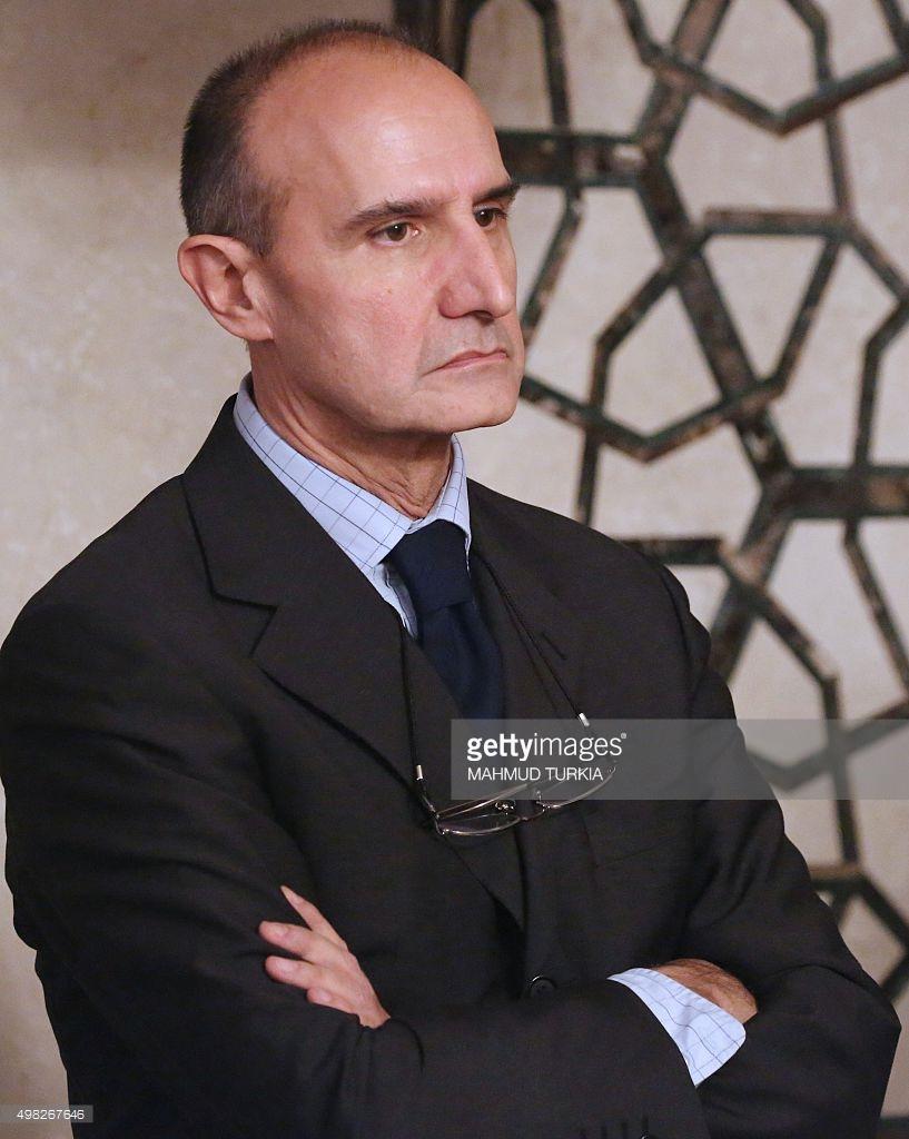 Italian Major General Paolo Serra, 2