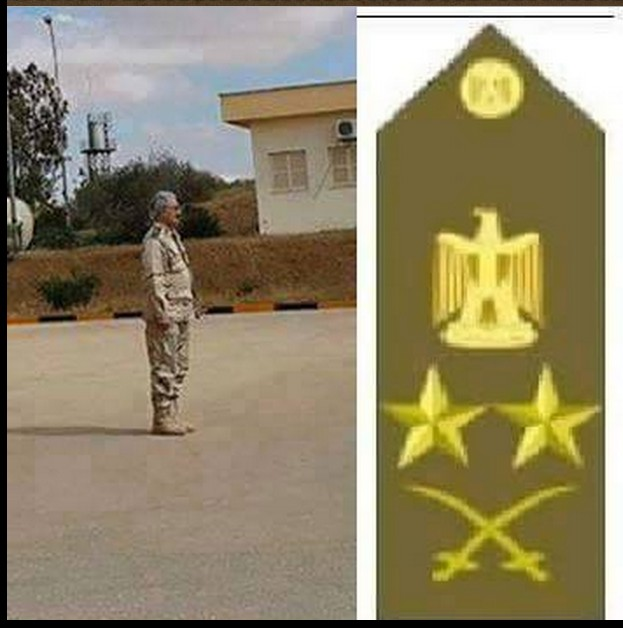 Kalifta Hftar, Lt. General comanding the Libyan Army