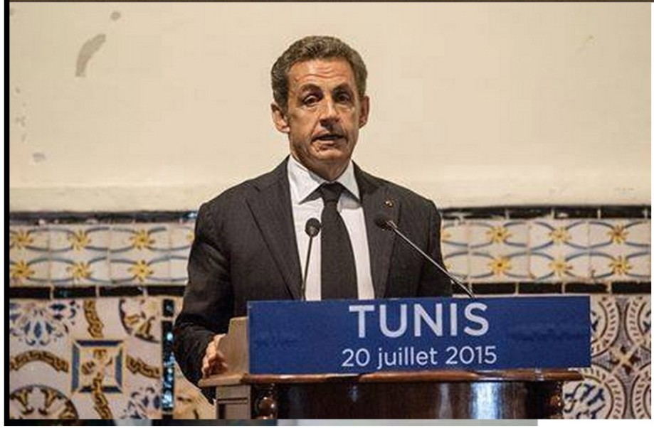 RAT SARKOZY in TUNIS