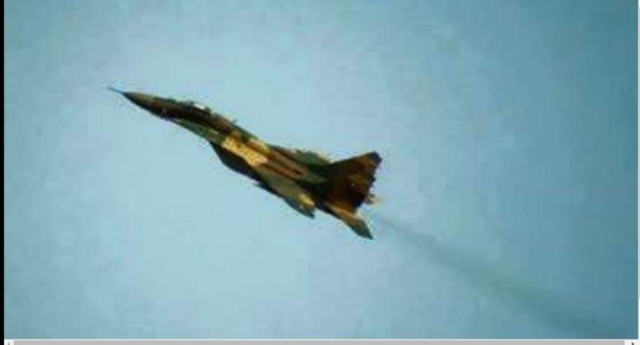rat Warplanes of MISURATA over SABHA