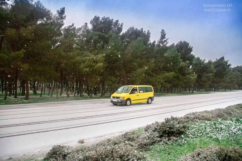 Snow in CASABLANCA, 1