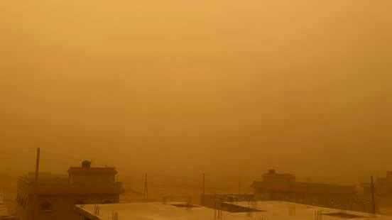 TOBRUK dust storm, 2