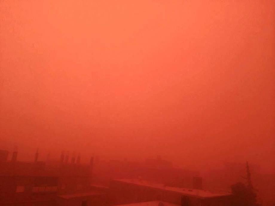 TOBRUK dust storm, 3